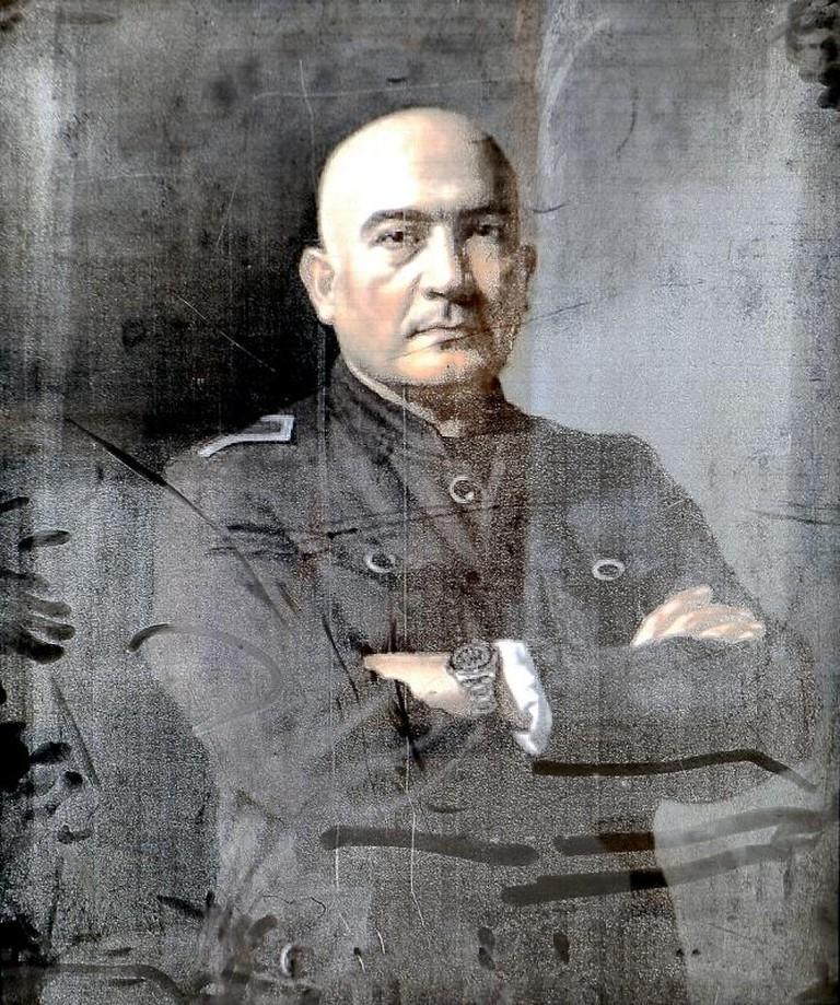 Salameh Nematt, Self Portrait