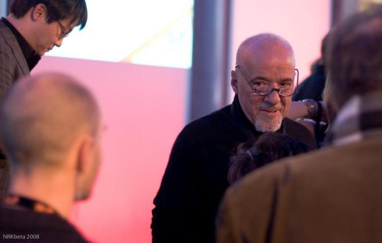 Paulo Coelho © nrkbeta/Flickr