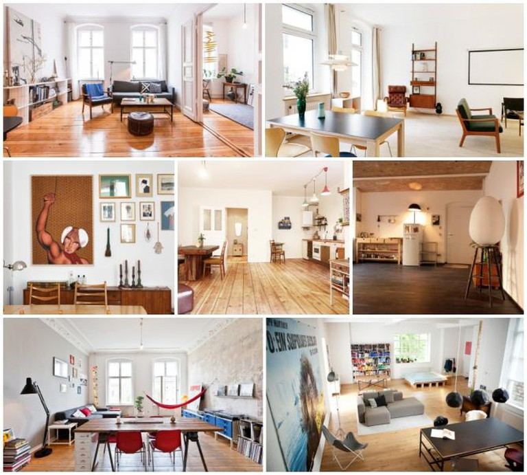 Berlin Airbnb collage