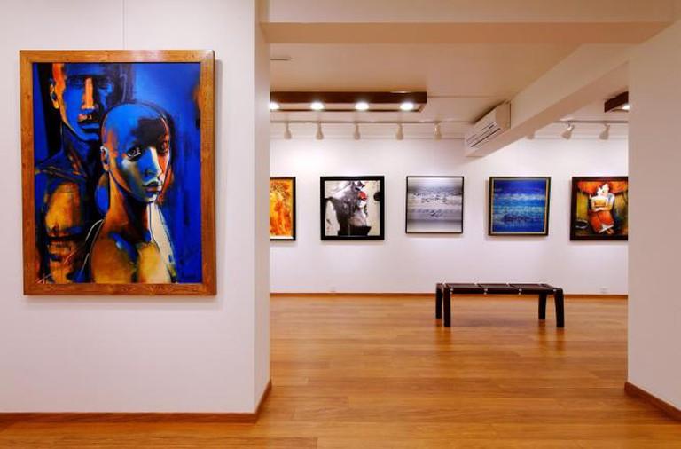 Installation view of Kynkyny Art Gallery | Courtesy of Kynkyny Art Gallery