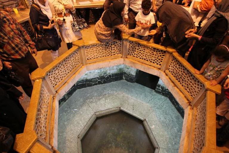 Underground Pool, under Saadi Tomb