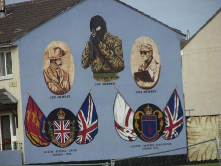 UDA Defence Mural