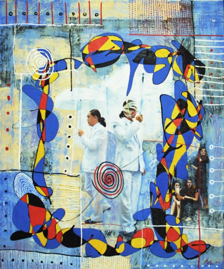 Aye Ko, 'What is Peace?', 2013 | ©Thavibu Gallery
