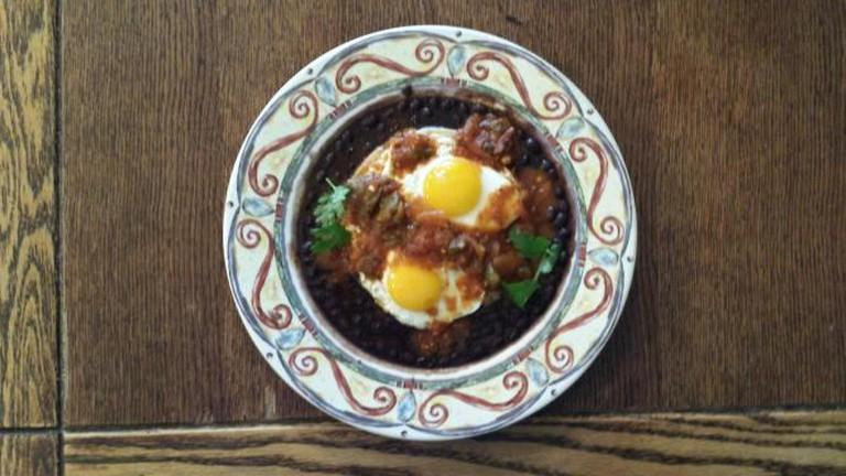 The Huevos Rancheros | Courtesy of Starliner Diner