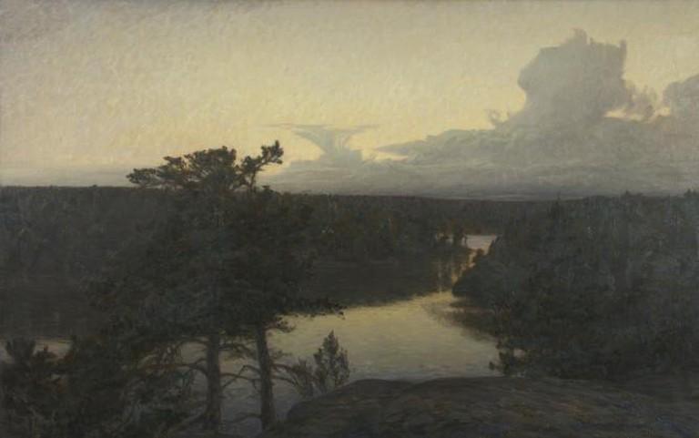 Prince Eugen, 'Det klarnar efter regn' ('Clearing After Rain'), 1904