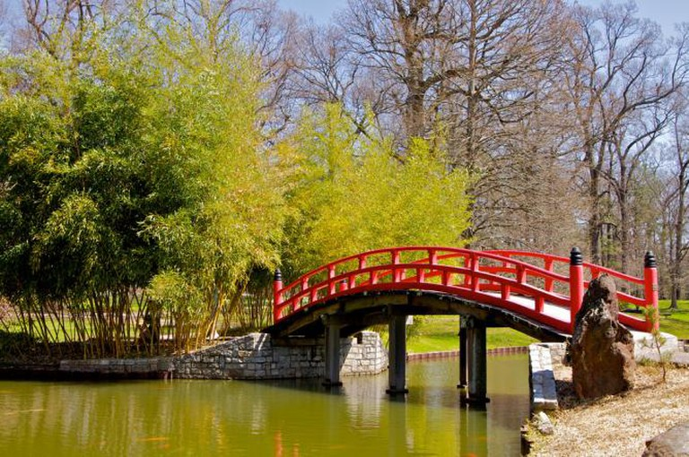 Japanese Bridge, Memphis Botanic Garden | © H. Michael Miley/Flickr