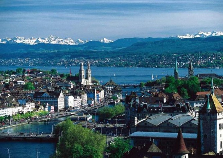 Zurich | © MadGeographer/WikiCommons