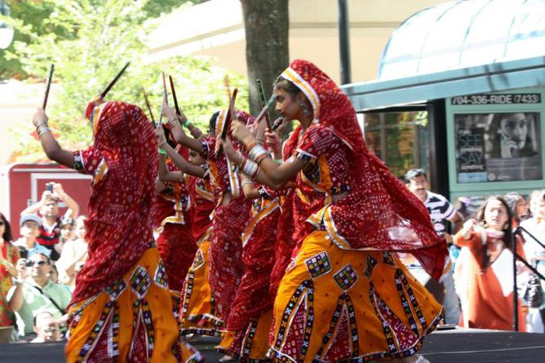 A dance performance at the Festival of India | Image Courtesy of Festival of India