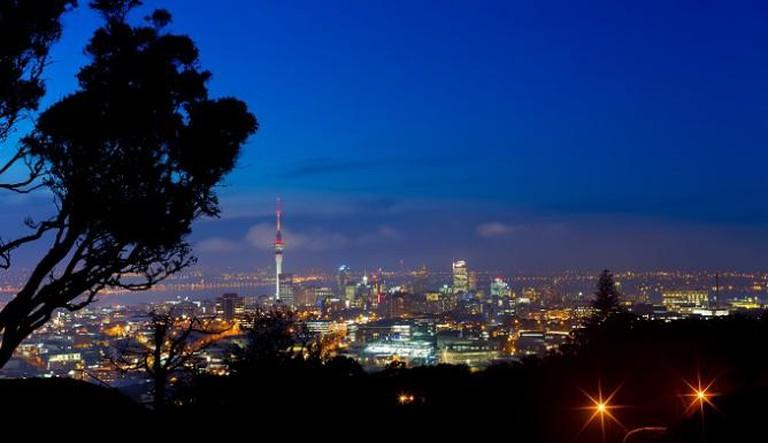 Auckland from Mt Eden