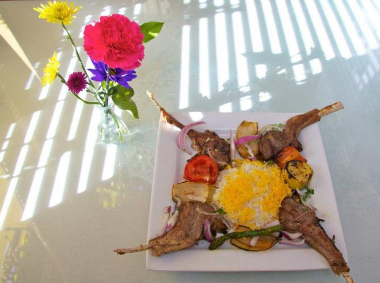 Rack of Lamb/Courtesy of Naan & Kabab