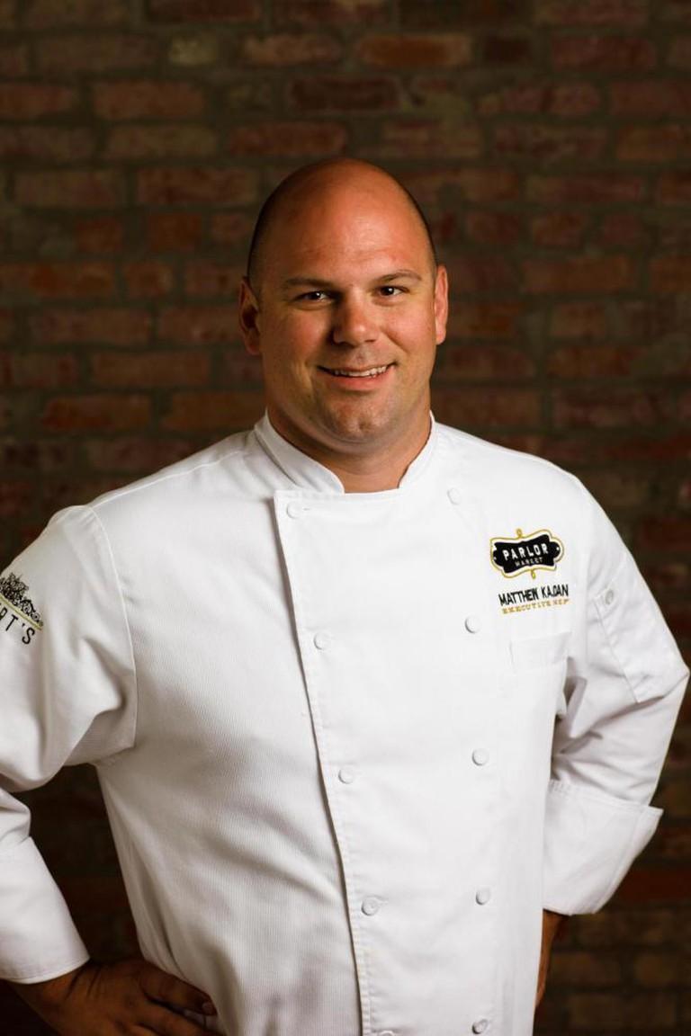 Chef Matthew Kajdan | Courtesy Parlor Market