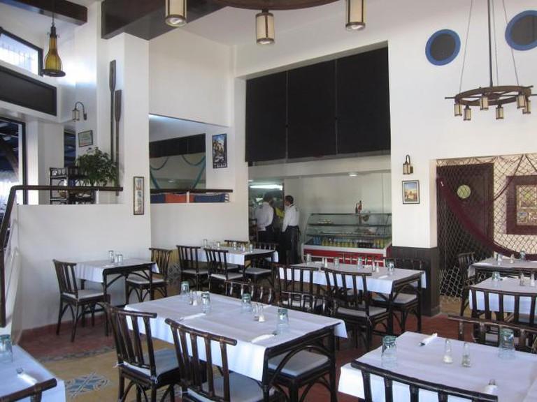 Restaurant Samaky, Rabat, Morocco
