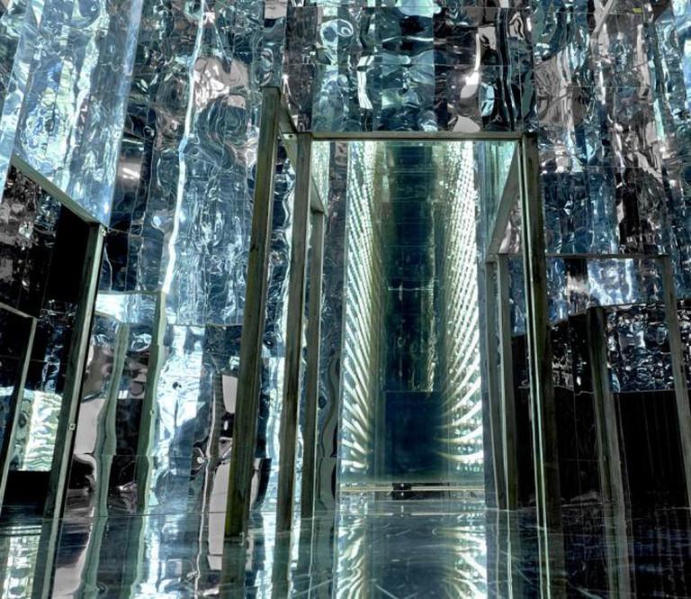 Lee Bul, Via Negativa (interior detail), 2012, View of Lee Bul exhibition, Madam Luxembourg, 2013-2014 | © Remi Villaggi