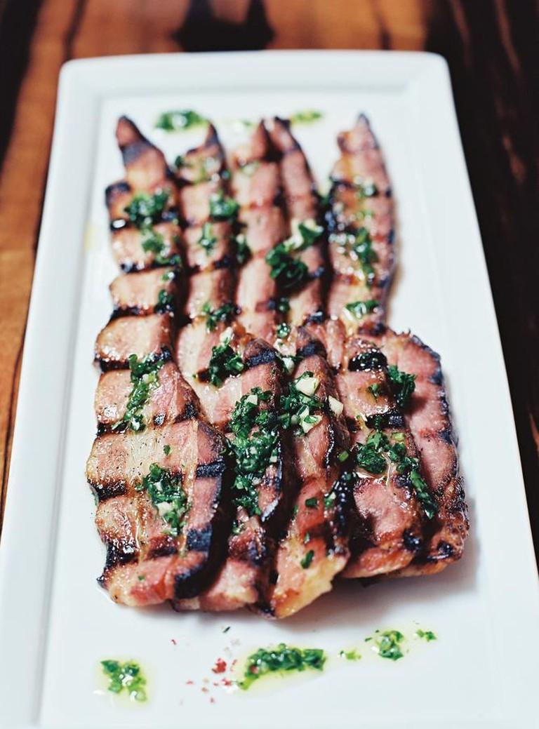 Grilled Bacon | Courtesy E Squared Hospitality