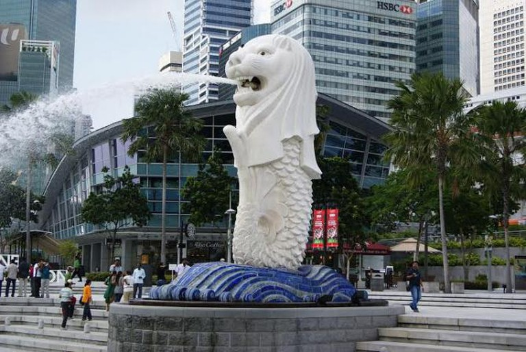 Merlion in Singapore | © Merlion444/Wikimedia Commons