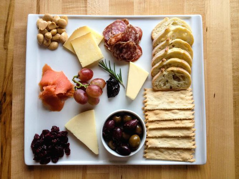 Cheese and Meat Board | Courtesy of San Juan Island Cheese