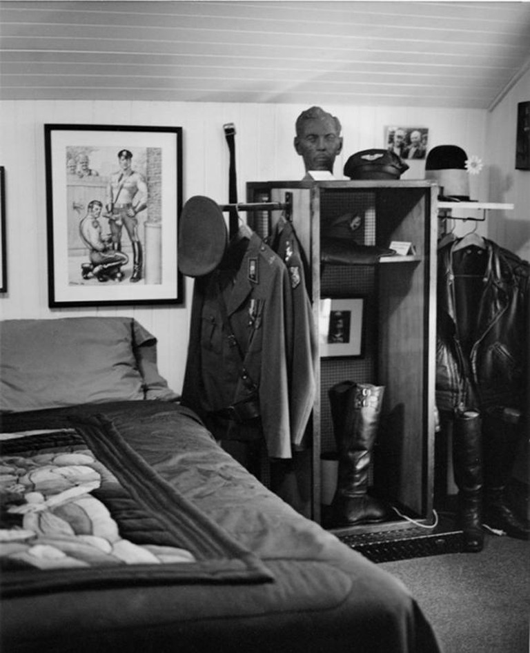 Tom of Finland's room at the Tom of Finland Foundatin, Los Angeles | © File Upload Bot (Magnus Manske)/Wikicommons