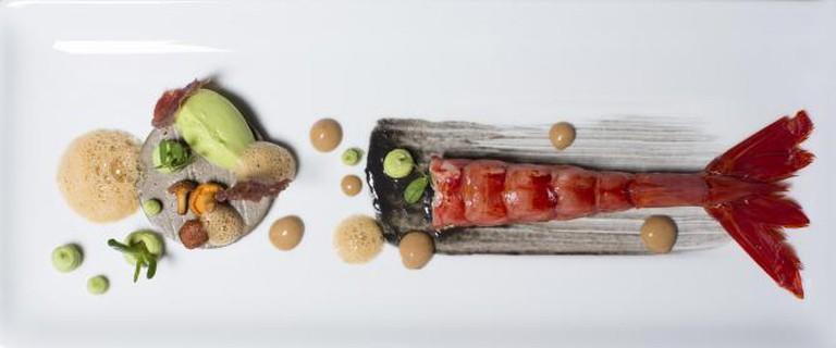 An artistic dish at Feitoria | © Rota das Estrelas/Flickr