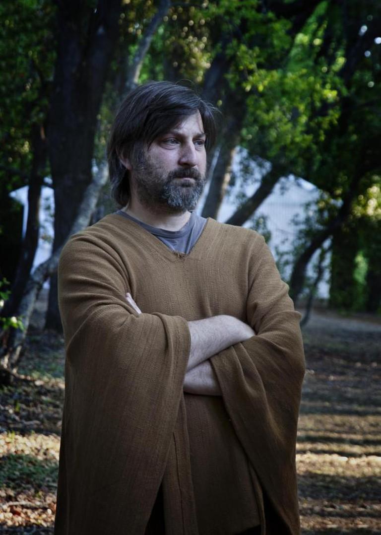 Smiljan Radić, portrait by Hisao Suzuki