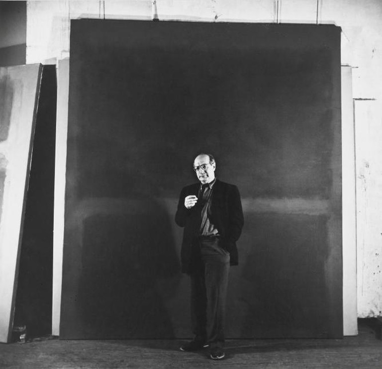 Rudy Burckhardt (1914–1999), Mark Rothko, New York, 1960, gelatin-silver print | Courtesy of Albright-Knox Art Gallery, Buffalo (gifted by Seymour H. Knox Jr.)