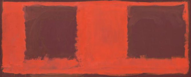Mark Rothko, 'Untitled' (Seagram Mural sketch), 1959, oil on canvas | Courtesy Gemeentemuseum den Haag