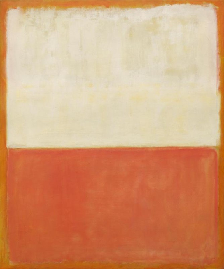 Mark Rothko, 'Untitled,' 1955, oil on canvas | Courtesy Gemeentemuseum den Haag