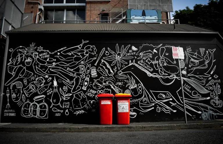 """""""Ghostpatrol street art""""   © Paul Cunningham/Flickr"""
