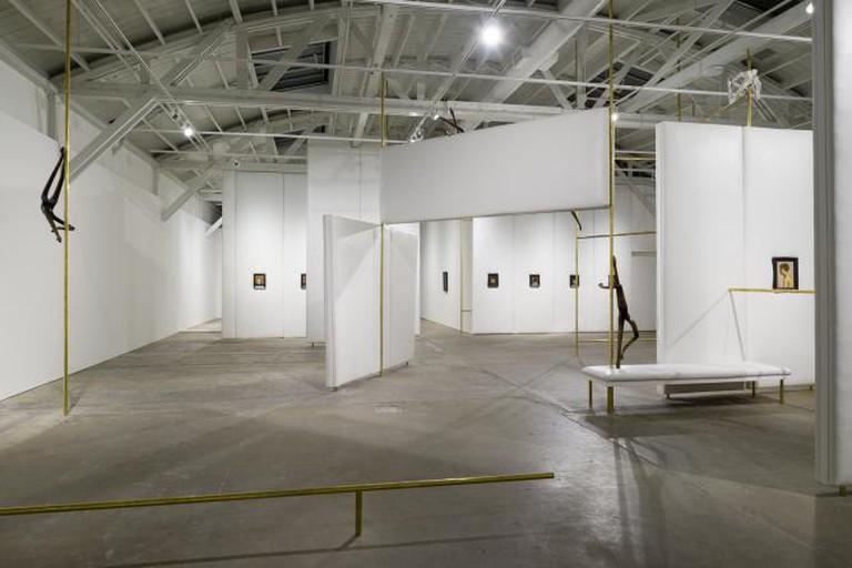 Markus Schinwald Exhibition | Courtesy of CCA Wattis Institute