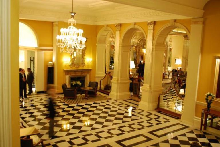 Claridge's Foyer | @ Josh Friedman/flickr