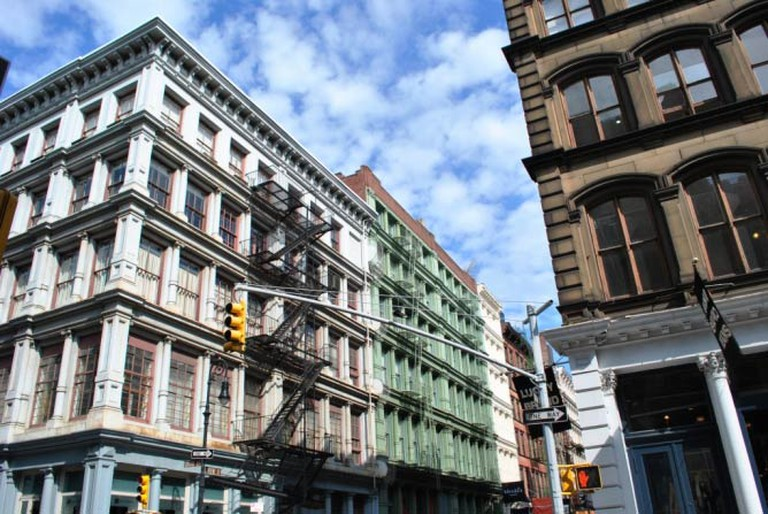 SoHo Cast Iron Historic District | © Elisa.rolle/WikiCommons