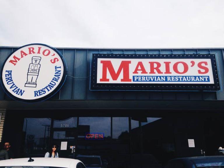 Mario's Peruvian Restaurant | © Gabriela Barragan