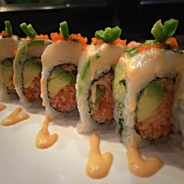 Rocking Scallop Roll   Courtesy of Red Ginger Asian Bistro