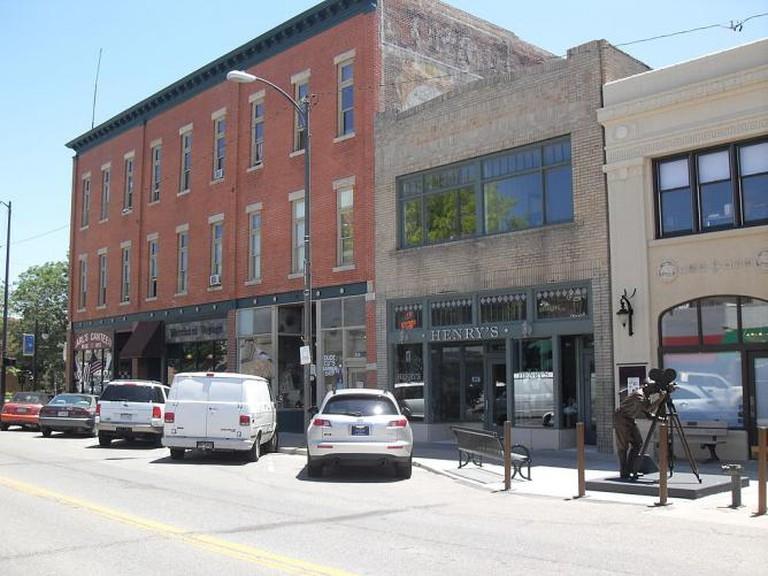 4th Street in Loveland CO © Elmschrat/Wikimedia