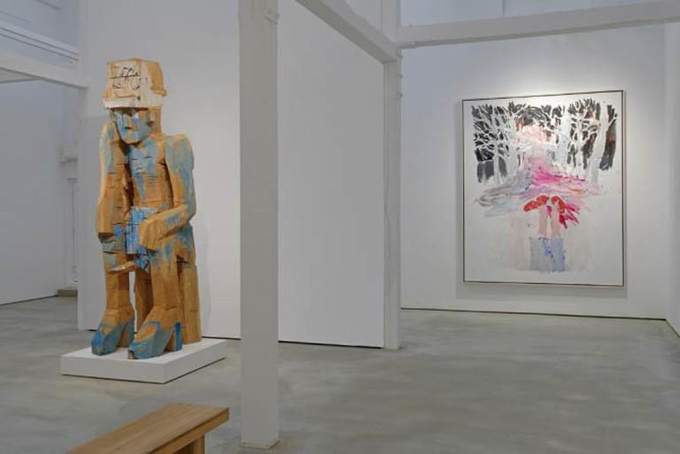 Installation View- Georg Baselitz
