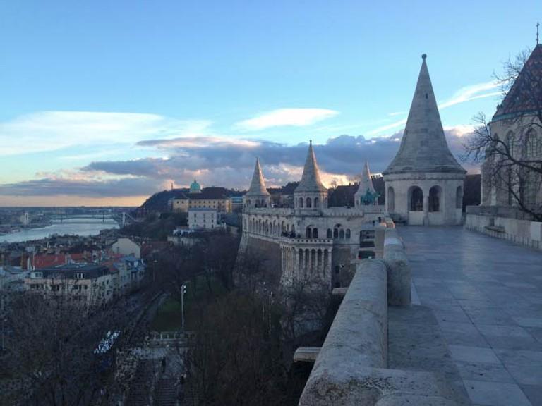 Fisherman's Bastion, Budapest | © Lani Seelinger