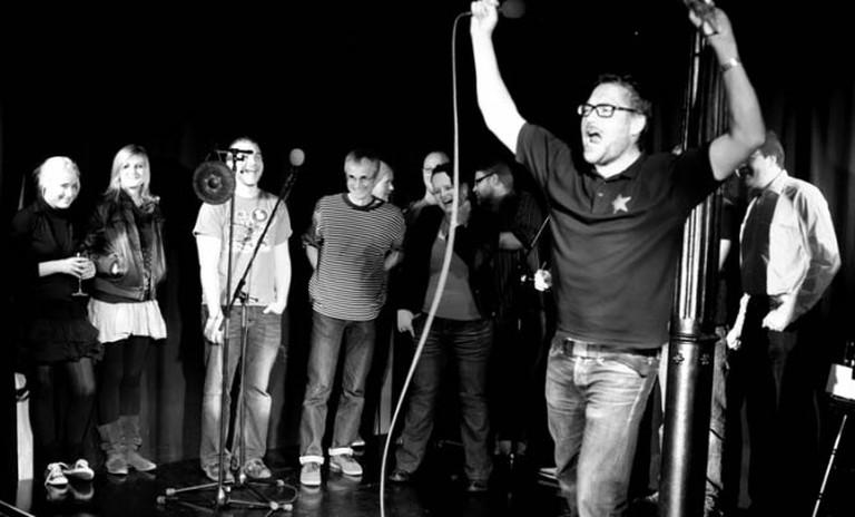Burns Night Poetry Grand Slam in Edinburgh © Flickr