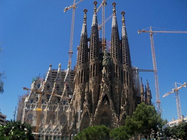 Sagrada Familia © Sal34/Wikimedia