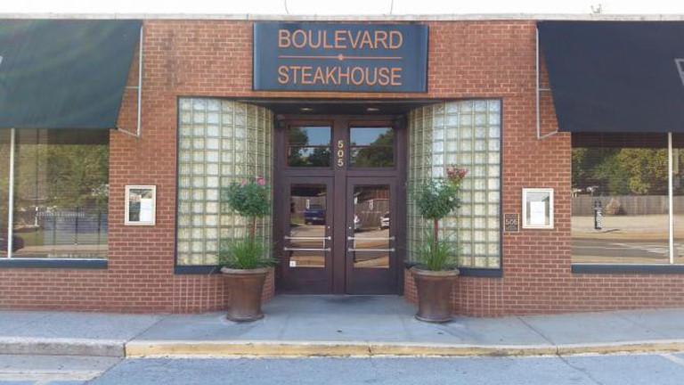 Exterior of Boulevard Steakhouse | © Courtesy of Boulevard Steakhouse, Britton