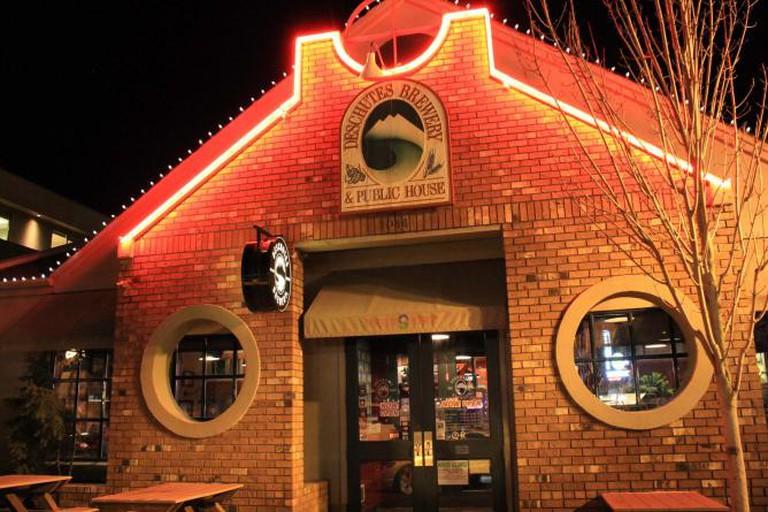 Exterior of Deschutes Brewery & Public House | Courtesy of Deschutes Brewery