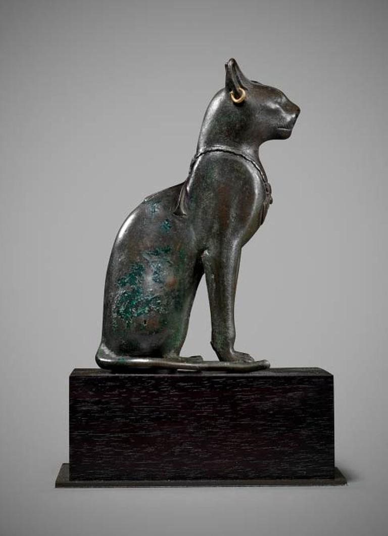 An Egyptian Bronze Cat | Image Courtesy Of Rupert Wace Ancient Art Ltd.