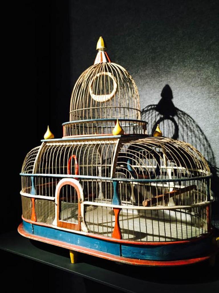A Patriotic Bird Cage | Image Courtesy Of Allan Katz Americana