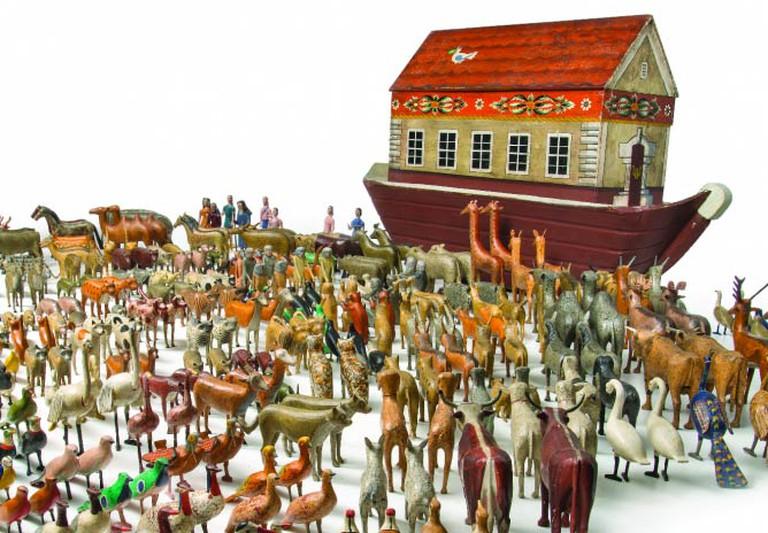 A 'Tour de Force' Noah's Ark | Image Courtesy Of Allan Katz Americana