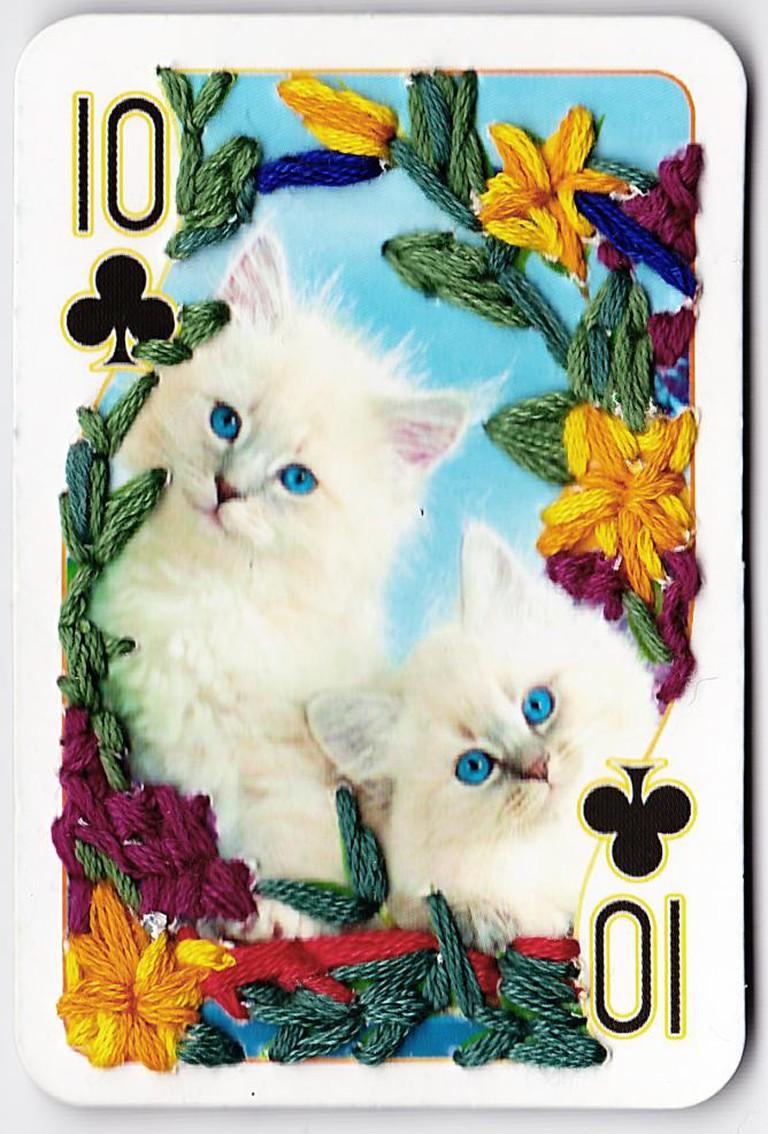 Pussy Deck cards Sinaida Michalskaja art