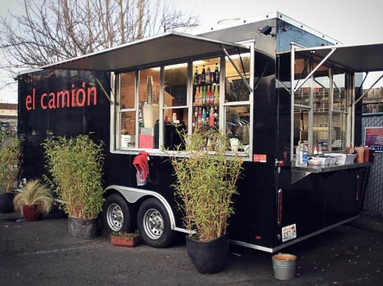 One of three El Camión trucks | Courtesy of El Camión