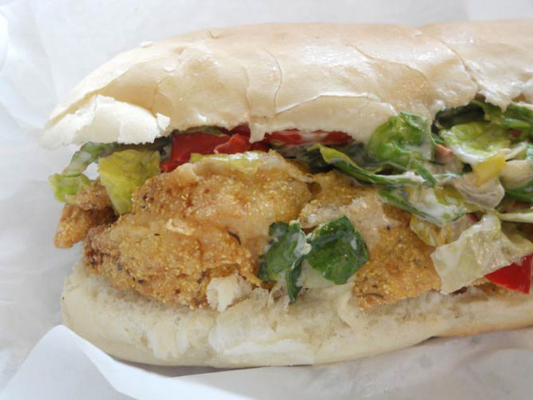 Catfish po' boy | © Jameson Fink/Flickr