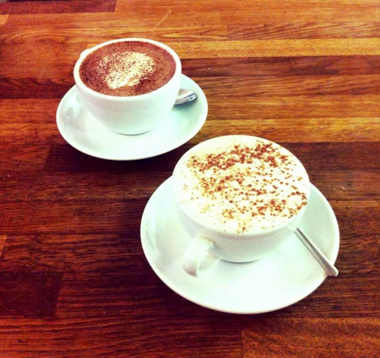 Milk and White Hot Chocolates   © Long White Cloud