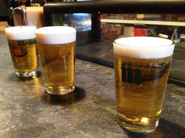 [Photo: Beer, Madrid © Rebecca Cairns]