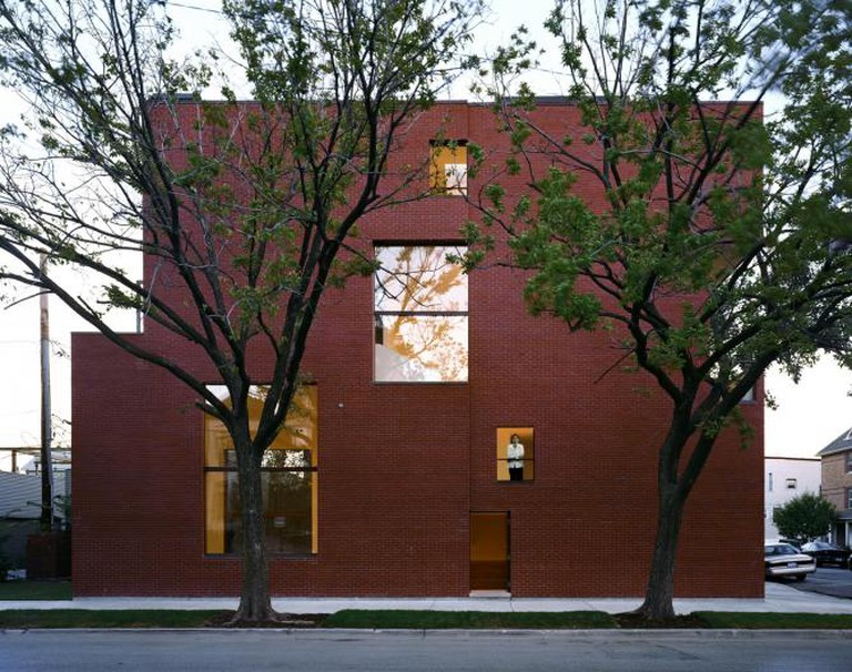Pfanner House in Chicago image courtesy of ©Zoka Zola Architecture + Urban Design