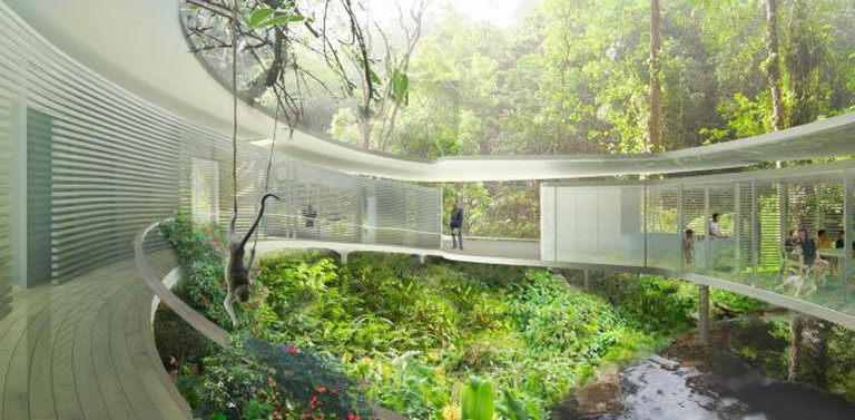 Rafflesia House zero energy house in Kuala Lumpur. Courtesy of © Zoka Zola Architecture + Urban Design