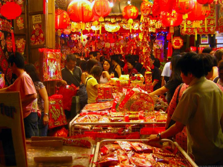 Chinese New Year Market | © Calvin Teo/WikiCommons